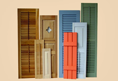 Shuttercraft Inc Interior And Exterior Quality Wood Shutters Are Made In The Usa And Still The Most Shutter For Your Money Unifinished Primed